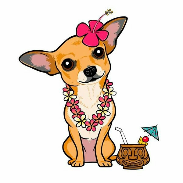 chihuahua dog clipart - photo #4