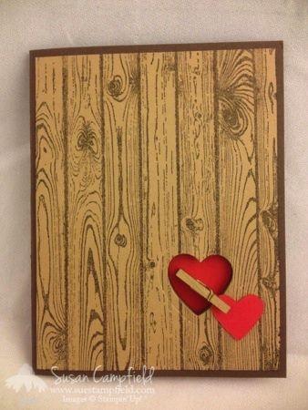 Hardwood Masculine Valentine