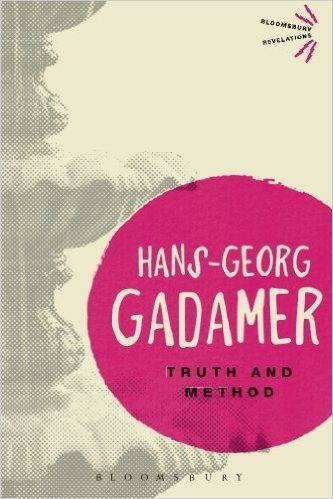 Truth and Method is a landmark work of 20th century thought which established Hans Georg-Gadamer as one of the most important philosophical voices. In this book, Gadamer established the field of 'philosophical hermeneutics'...In arguing the 'truth' and 'method' acted in opposition to each other, Gadamer examined the ways in which historical and cultural circumstance fundamentally influenced human understanding.