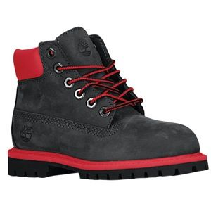 """OMG! I'm definitely getting these for my son. They're sick!! Timberland 6"""" Premium Waterproof Boot - Boys' Toddler"""