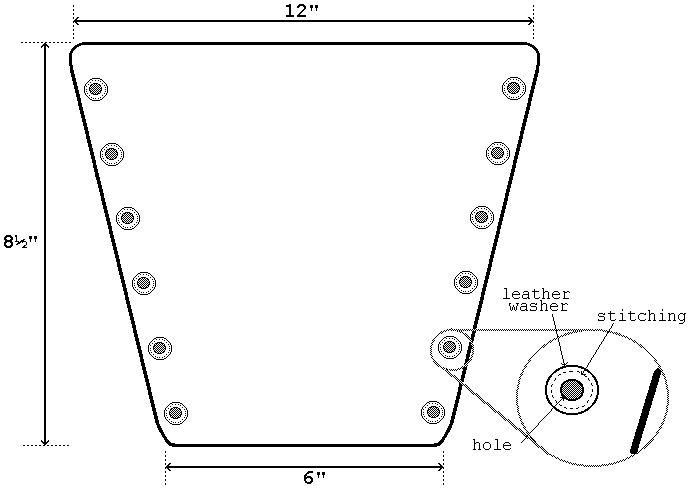 EQTC Item Tin Plate Vambrace Template  :: riagareesty ml