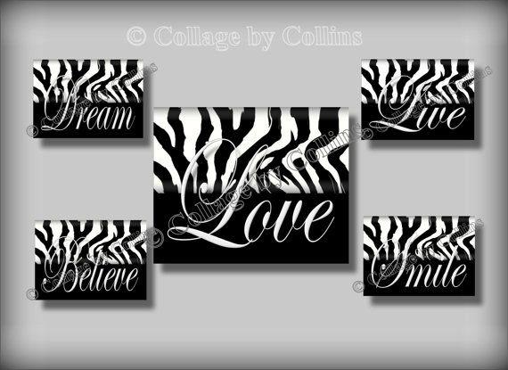 Zebra Print Wall Decor best 10+ zebra print walls ideas on pinterest | zebra print