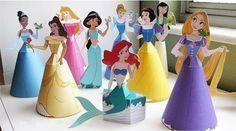 Vai ficar muito mais fácil decorar a sua festa com os moldes das princesas da Disney