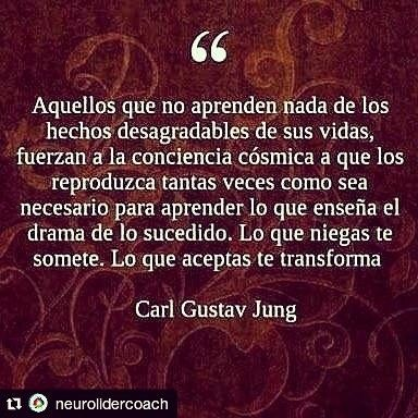 #Repost @neurolidercoach (@get_repost)  Para acabar el día un poco de filosofía. Per acabar el dia una mica de filosofia. To end the day a little philosophy.  #jung #filosofia #philosophyoflife #philosophy #end #fin #final #dia #day #aportaoaparta #happiness #lliçons #lecciones #felicidad #thursday #dijous #jueves #life #vida #thinking #cosmos #karma #universe