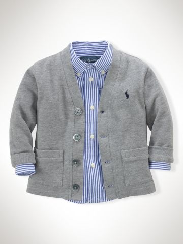 Ralph Lauren Baby Long-Sleeved Cardigan