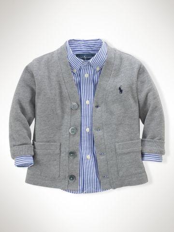 Ralph Lauren Baby Long-Sleeved Cardigan