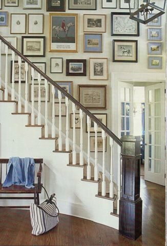 16 best images about Stairway wall decor on Pinterest