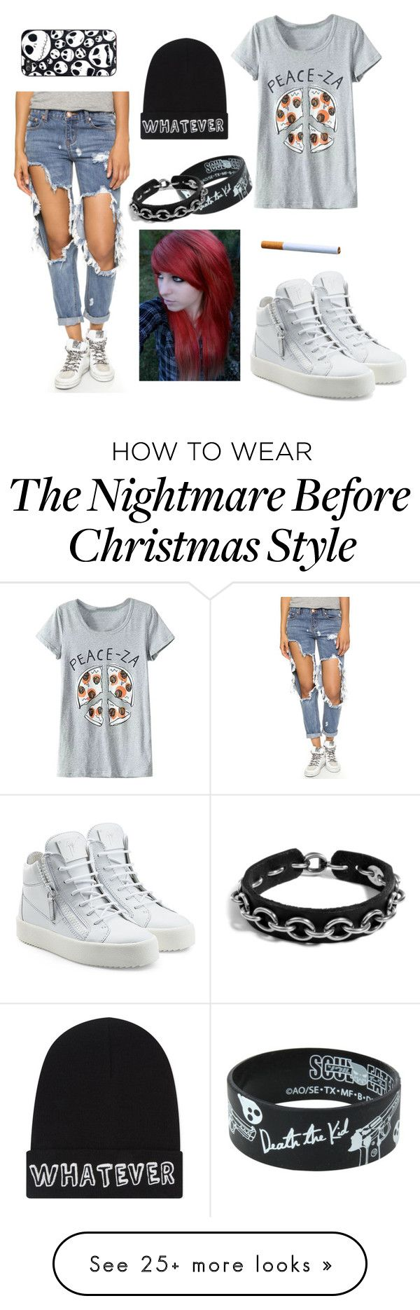 """""""I'm bound to youuu...."""" by raz0rs on Polyvore featuring One Teaspoon, Giuseppe Zanotti, Werkstatt:München and Local Heroes"""
