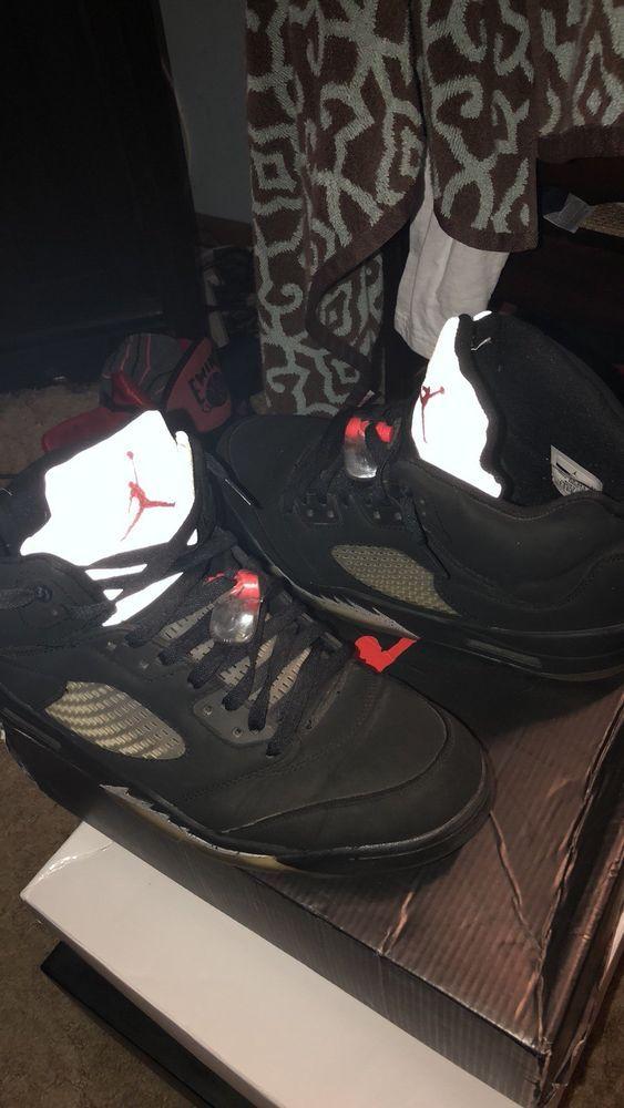 a8243ec5de7f75 Men s Sz 10.5 Air Jordan 5 Retro - Black  fashion  clothing  shoes   accessories  mensshoes  athleticshoes (ebay link)