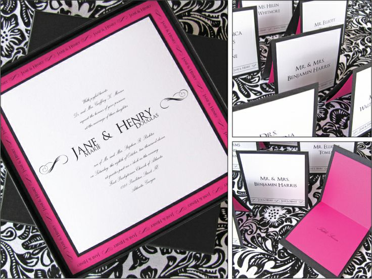 Custom Wedding Invitations   Dogwood Blossom Stationery & Invitation Studio LLC