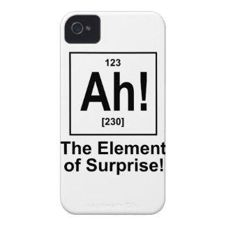 Ah! The Element of Surprise. Case-Mate iPhone 4 Case