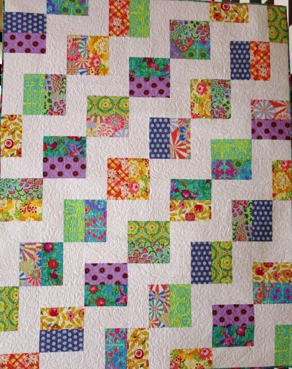 Fig Leaf Quilting Texas Two Step Quilt Pattern
