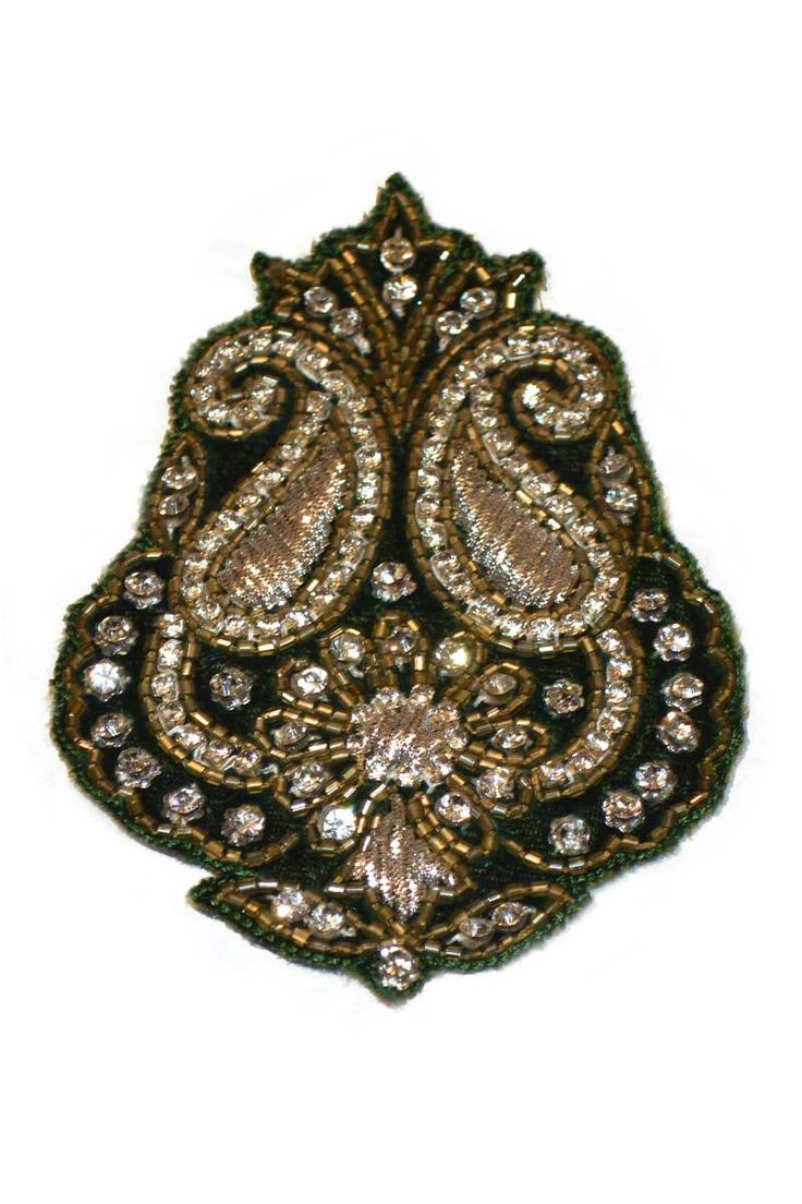 Buy Midnight Green Party Hand Embroidery Butta Online in India at leading online shop sareez.com. Choose from the huge collection.