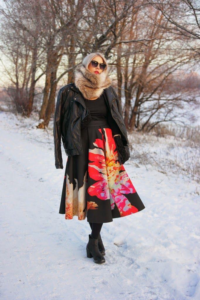More on my blog: http://lifeisbeautifuland.blogspot.fi/2014/12/new-midi-skirt.html
