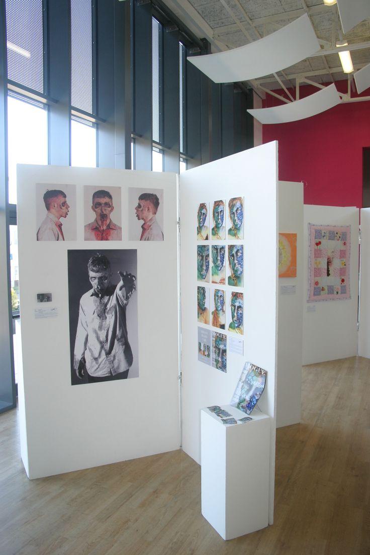 F.E Art Show 2015 #art #design #exhibition #exhibit #students #work