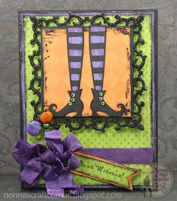 Best Witches! Halloween card