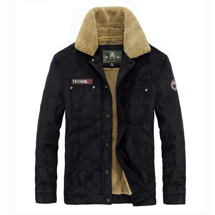 107.86$  Watch now  -  Winter Jacket Men Plus Velvet Warm Thickening Parka Men New Casual Afs Jeep Jacket Coat Brand Parkas Fur Collar Army Jacket