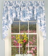 Kitchen Window Treatments Over Sink French Country Valances