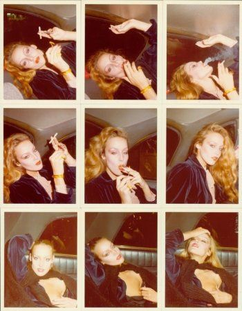 Jerry Hall by Antonio Lopez, 1970s