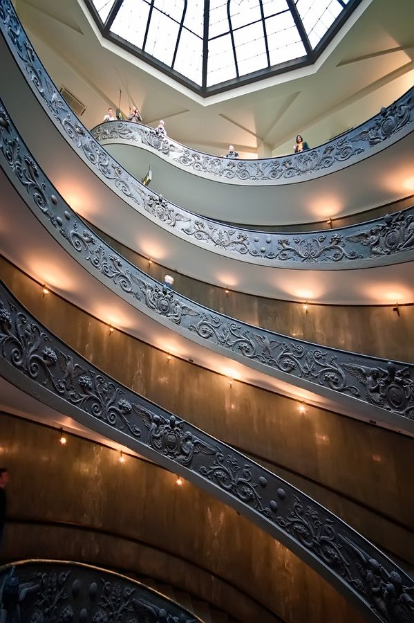 """""""Vatican Stairs"""" by Neil Cherry"""