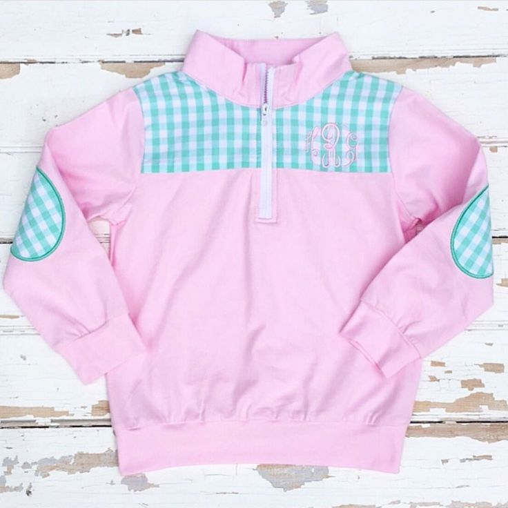 Pink Knit Pullover - Monogram It!