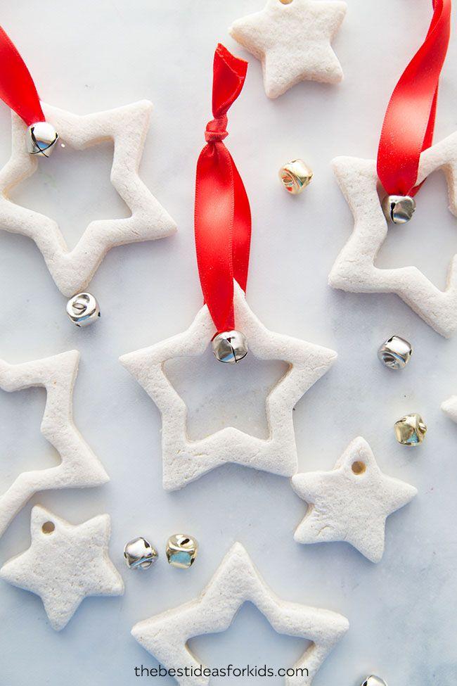 12 Kreative DIY Salzteig Weihnachtsschmuck
