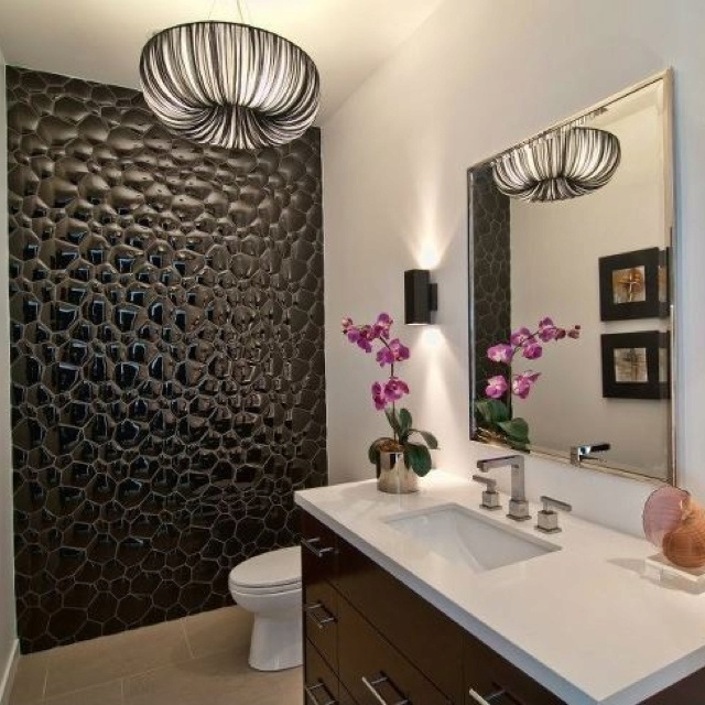 45 best feature wall images on pinterest home ideas for Feature wall bathroom ideas