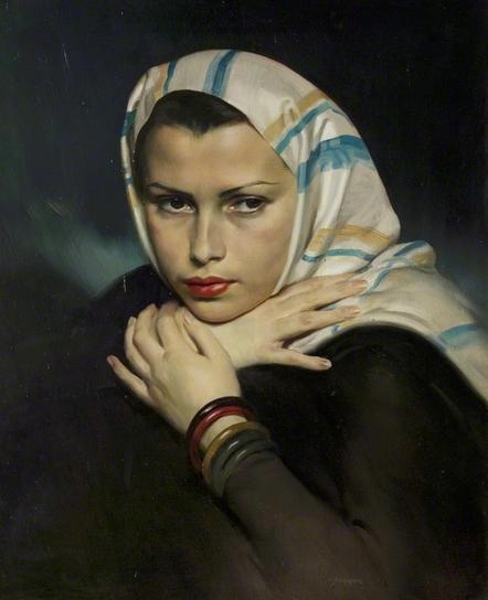 Jewish Refugee by David Jagger (1938) - Hauntingly beautiful