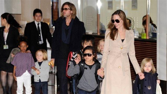 Famille Brad Pitt - Angelina Jolie
