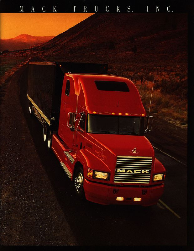 Mack Trucks. INC. 1995 | truck brochure | by worldtravellib World Travel library - The Collection