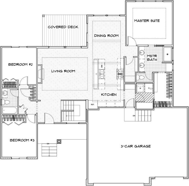 Biltmore Wichita Custom Home Floor Plan (With images