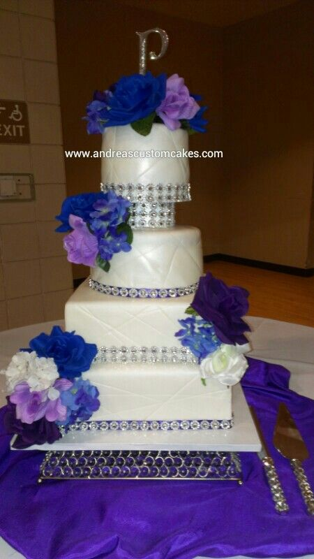 wedding cake silver and purple 24 best images about of forevers on 24550