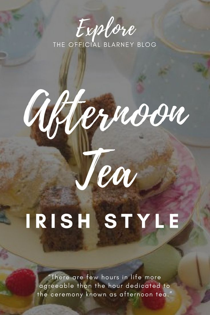Is there anything more delightful than sinking into a cozy armchair and indulging in a delicious afternoon tea? Read our full guide on how to host a perfectly Irish afternoon tea party in our blog at: http://explore.blarney.com/afternoon-tea-irish-style/