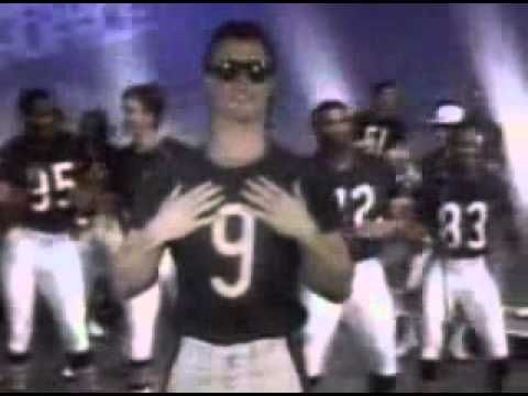 Da Bears - Super Bowl Shuffle.  1985.  Admit it, you liked it then and you like it now!