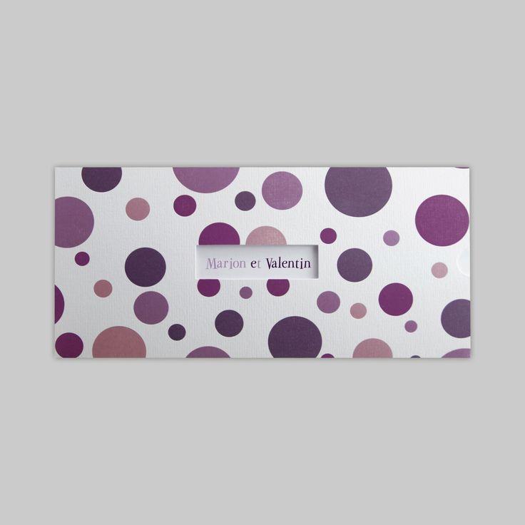 17 meilleures images propos de faire part de mariage violet sur pinterest. Black Bedroom Furniture Sets. Home Design Ideas