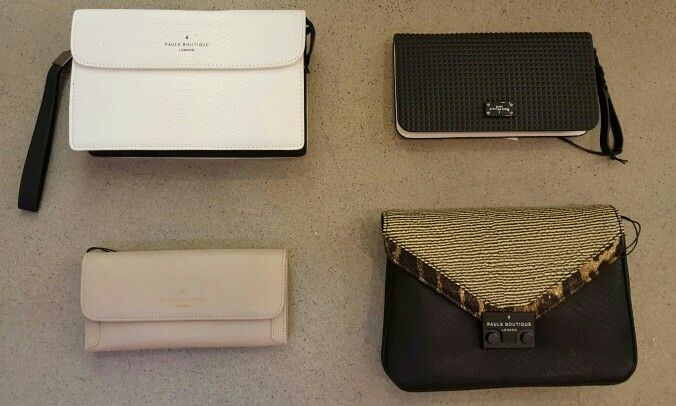 Business gala clutch assortiment and more.