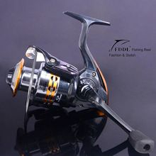 Great Fishing reels small reel front drag spinning fishing reel 9BB 5.2:1/5.5:1 feeder coil fishing tackle without fishing rod