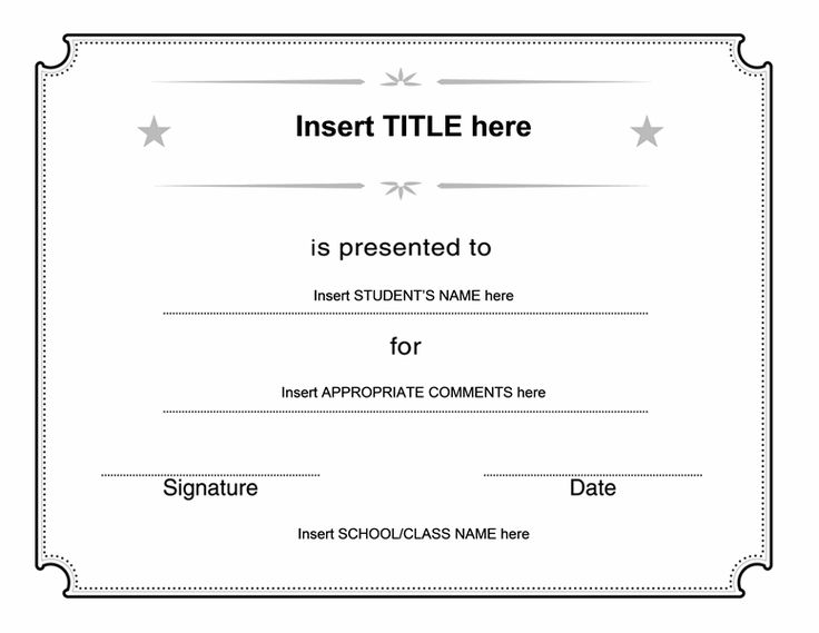 13 best Certificate templates images on Pinterest Birthday - Award Certificate Template Word
