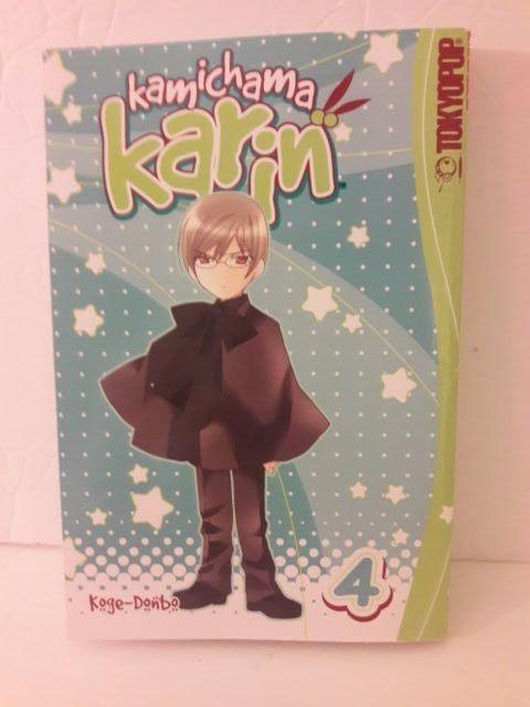 Tokyopop Kamichama Karin Volume 4 Manga Action Romance paperback free shipping