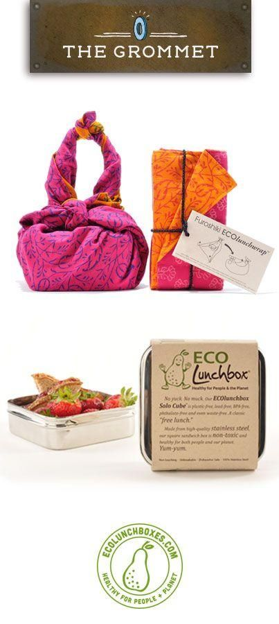 ECOlunchwraps and stainless steel lunch containers