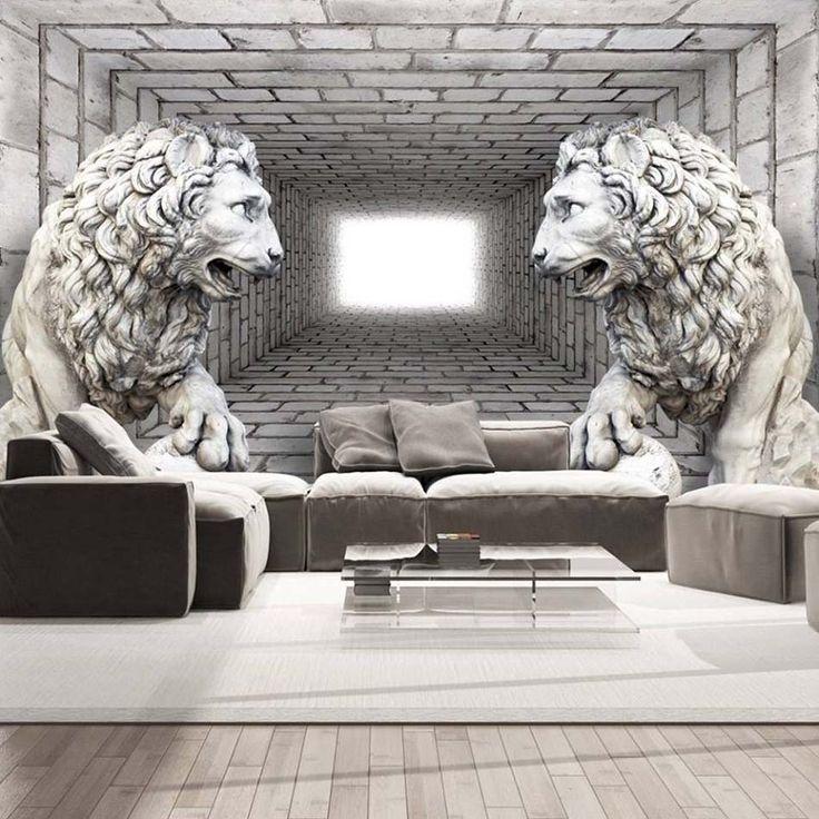 Les 25 meilleures id es de la cat gorie papier peint 3d - Decoration interieure originale ...