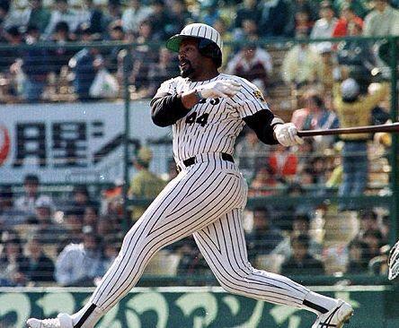 Cecil Fielder, Hanshin Tigers, 1989