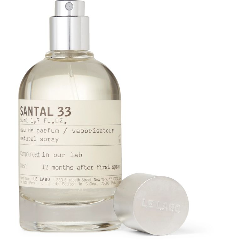 Le Labo's 'Santal 33' Eau de Parfum is an aromatic, addictive and comforting fragrance which evokes the smoky scent of an open fire. Notes of Cardamom, Iris, Violet and Ambrox melt into woody accords of Australian Sandalwood, Papyrus and Cedarwood to create a spicy, aromatic base.