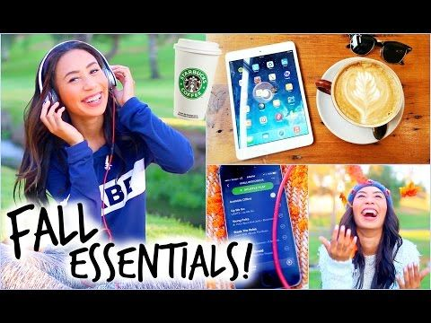 Fall Essentials! Hair, Outfits, Drinks, Apps and More! I love this girl! @mylifeaseva