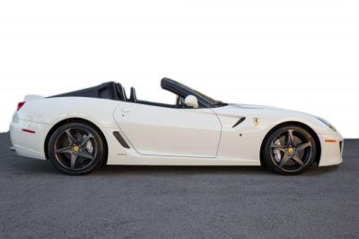 2011 #Ferrari 599 GTB Fioran0 F1A White http://www.iseecars.com/used-cars/used-ferrari-for-sale  Used Ferrari for Sale: 37 Cars at $59,000 and up | iSeeCars.com