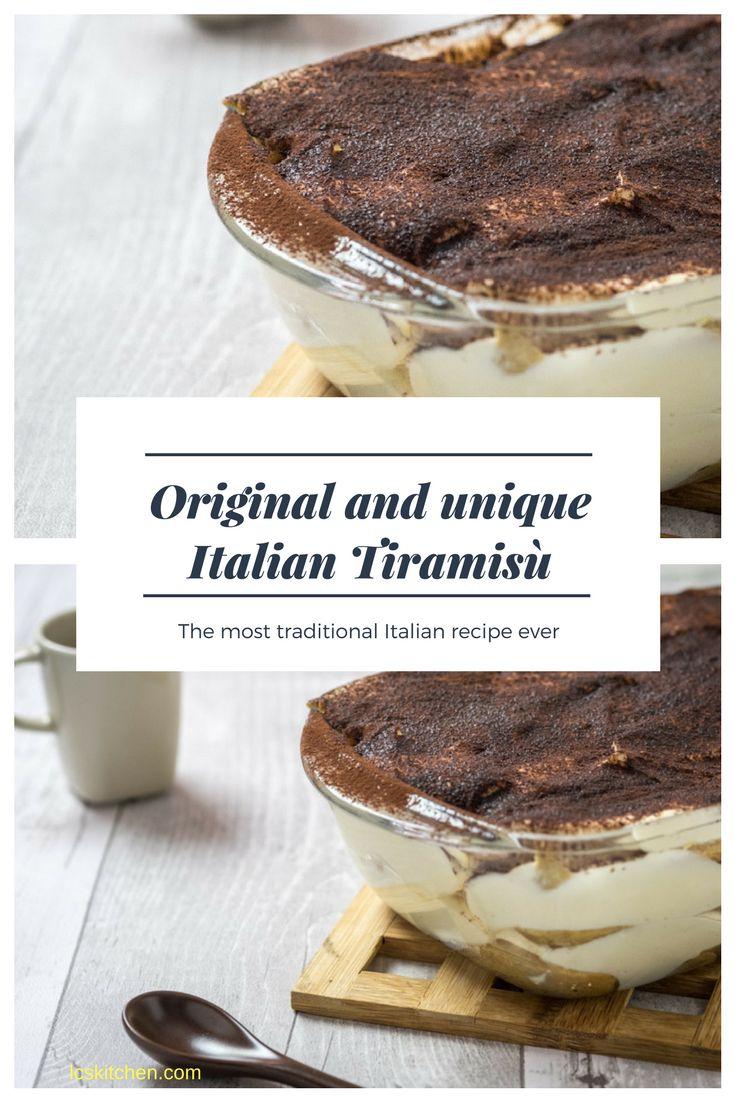 Learn how to make the tiramisù in the original and genuine Italian way. The original recipe from Italy. Click here for the video as well. #italianfood #italianrecipe #tiramisu