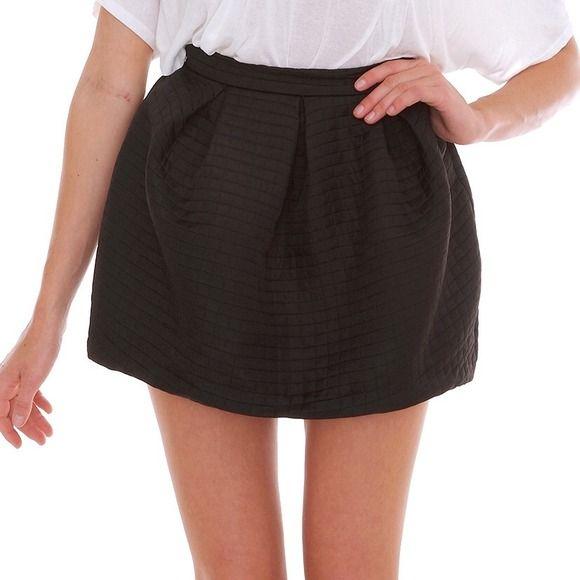 Small black pleated LUSH CLOTHING skater skirt Brand new. Brand sold at nordstrom. Lush Skirts Circle & Skater