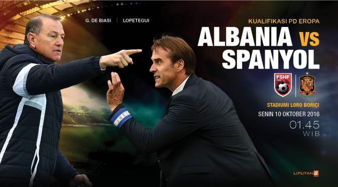 Prediksi Albania Vs Spanyol Tekad Kudeta Puncak Grup G - Bola Liputan6.com