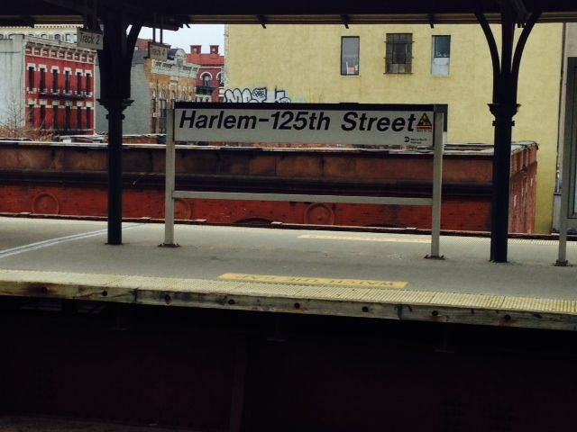 Harlem 125th Street Metro North Station