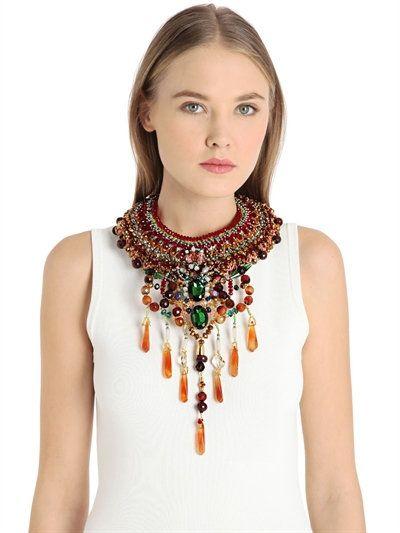Sarai beaded collar by Anita Quansah London